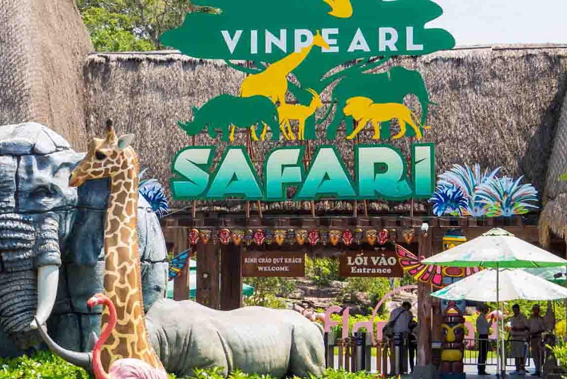 Khám phá Vinpearl Safari Phú Quốc