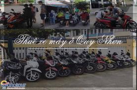Thuê xe máy ở Quy Nhơn
