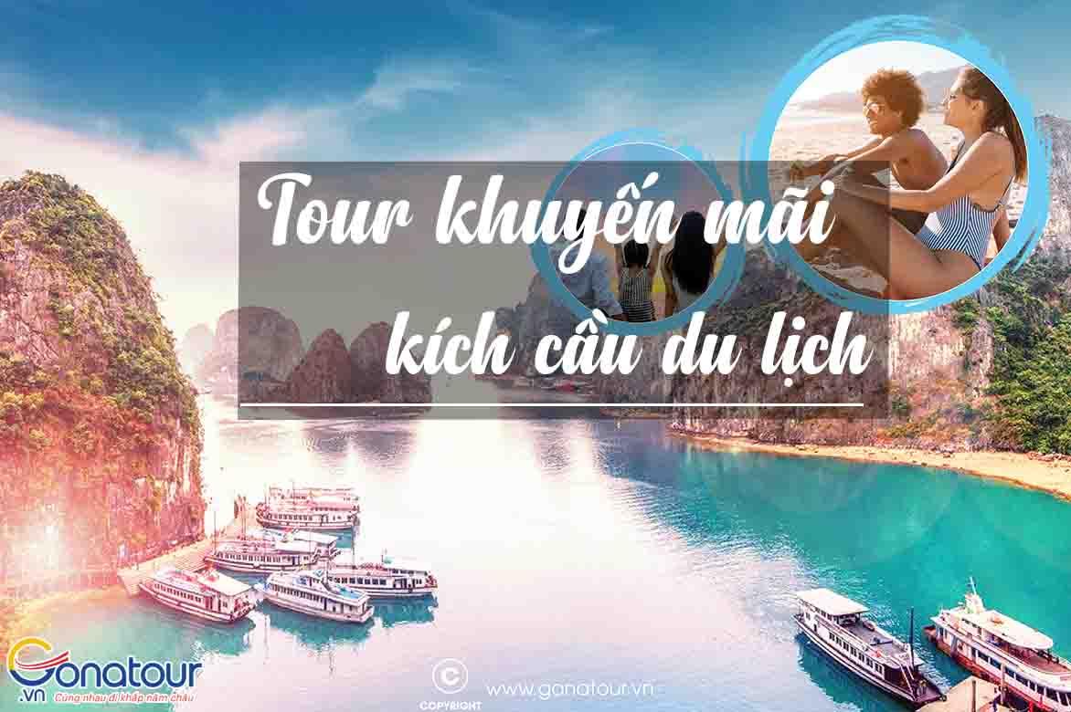 Chương trình du lịch khuyến mãi kích cầu tour trong nước | Gonatour