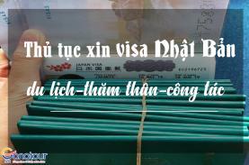 Kinh nghiệm xin Visa đi du lịch, thăm thân, công tác Nhật Bản tự túc
