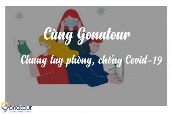 Cùng Gonatour chung tay phòng chống dịch Coronavirus Covid-19