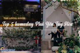 Top 05 homestay Phú Yên Tuy Hòa