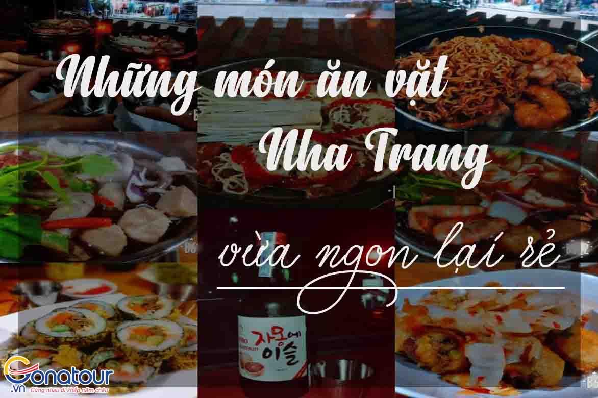 Những món ăn vặt Nha Trang vừa ngon lại rẻ