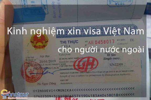 Kinh nghiệm xin thị thực (visa) Việt Nam cho người nước ngoài