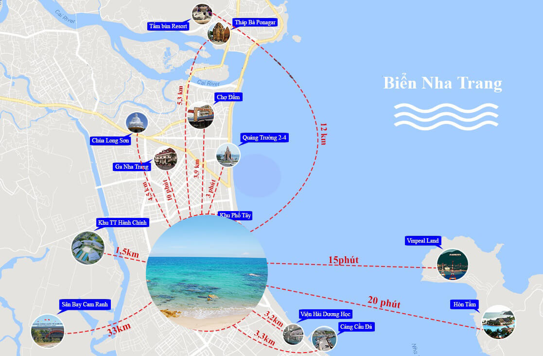bản đồ Nha Trang