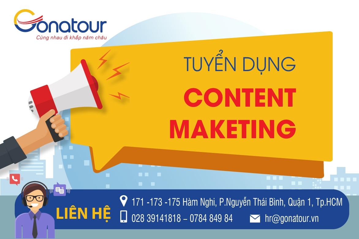 Tuyển dụng Thực tập sinh content marketing