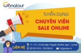 Tuyển dụng Chuyên Viên Sale Online