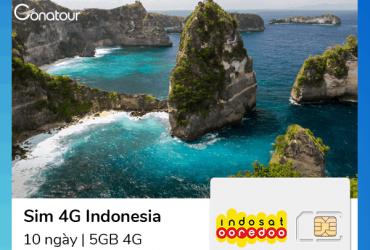 Sim Du Lịch Bali - 2GB
