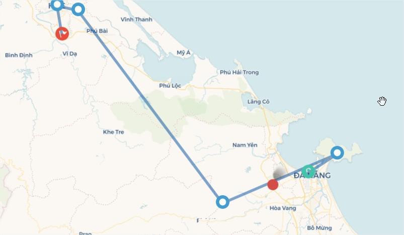 Tour Đà Nẵng - Hội An - Huế (4N3D)