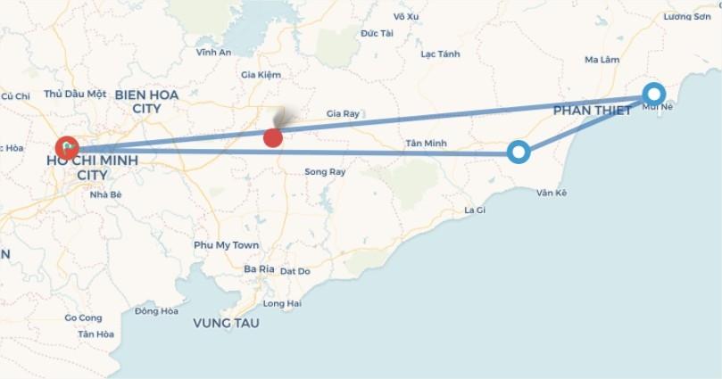 Sài Gòn - Phan Thiết - Mũi Né - Đồi Cát Bay ( 3N2D)