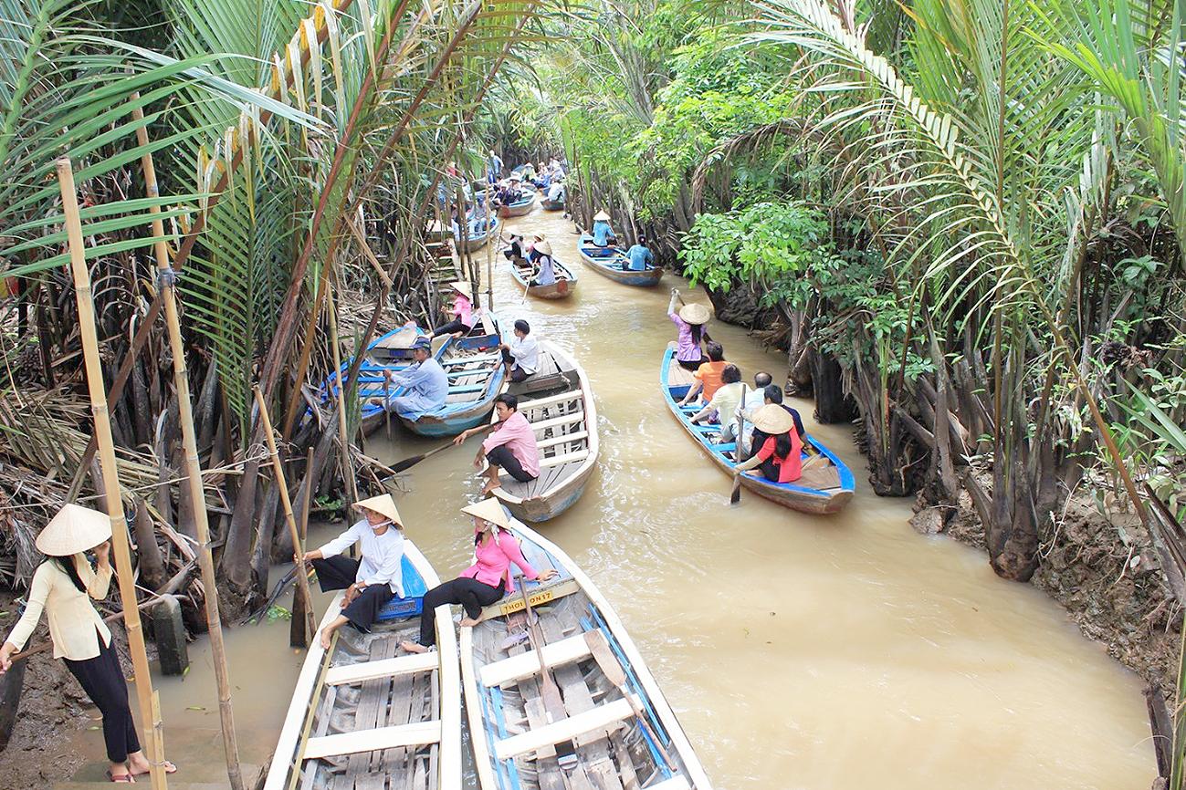 Sài Gòn - Tiền Giang - Cần Thơ ( 2N1Đ)