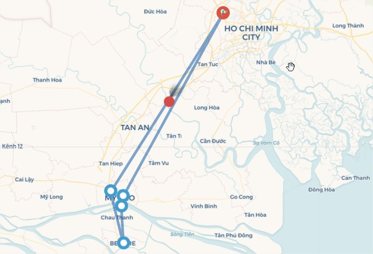 Tiền Giang - Bến Tre (1N)