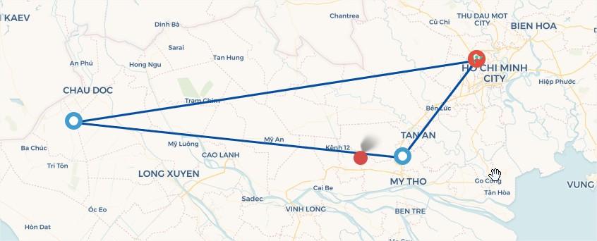 Tour du lịch Tiền Giang - Rừng tràm Trà Sư ( 2 Ngày 1 Đêm )