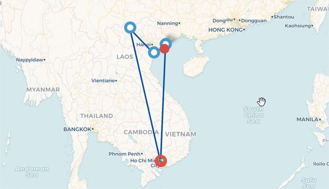 Tour du lịch HÀ NỘI - SAPA - NINH BÌNH – HẠ LONG
