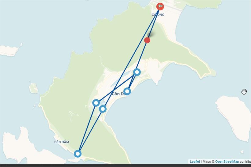 Tour du lịch Côn Đảo - 2 Ngày 1 Đêm ( Áp dụng đoàn trên 10 khách )