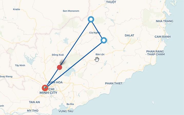 Tour du lịch Hồ Tà Đùng - Trải Nghiệm Cầu Kính ( 2N1D )