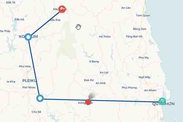 Tour du lịch Bình Định - Gia Lai - Kon Tum - Măng Đen (5 ngày 4 đêm)