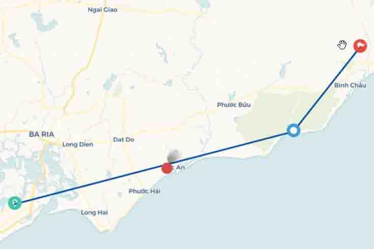 Tour du lịch Vũng Tàu nghỉ dưỡng Bình Châu Hồ Cốc