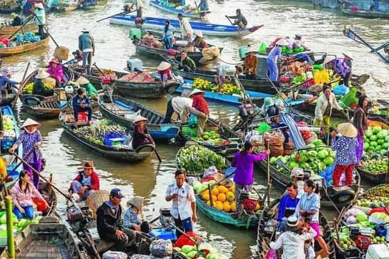 Sài Gòn - Tiền Giang - Cần Thơ (2N1Đ)