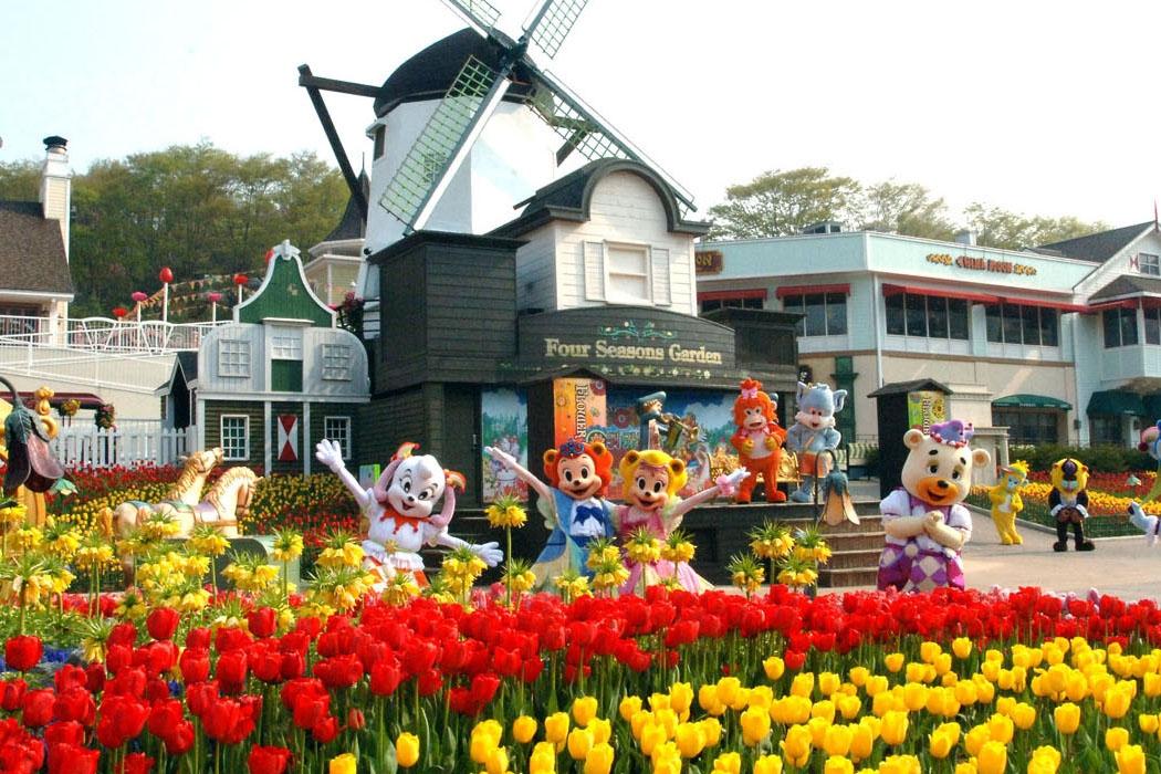 [Hoa Anh Đào] Tour du lịch Hàn Quốc : Seoul - Công Viên Ypuido - Everland - Nami (4N4D) bay Vietjet