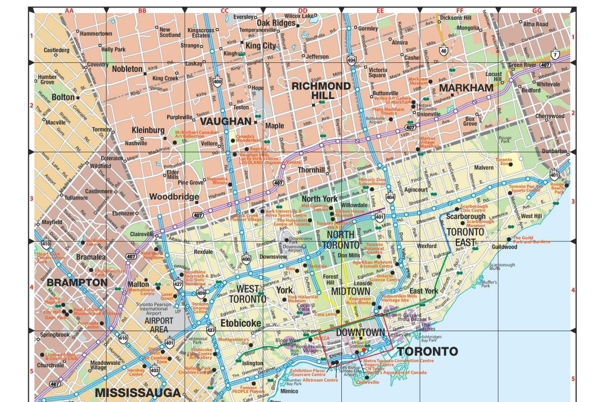 Tour du lịch liên tuyến Đông Tây Canada : Toronto - vancouver (9N8Đ)