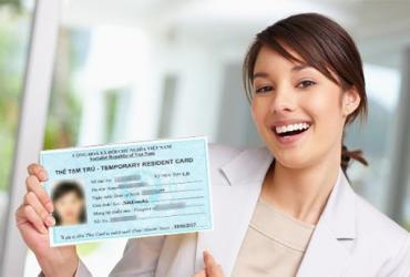 Thẻ tạm trú | Temporary residence card