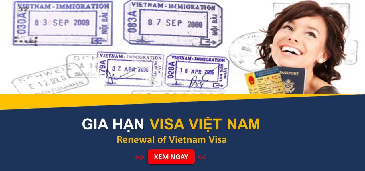 Gia hạn Visa người nước ngoài