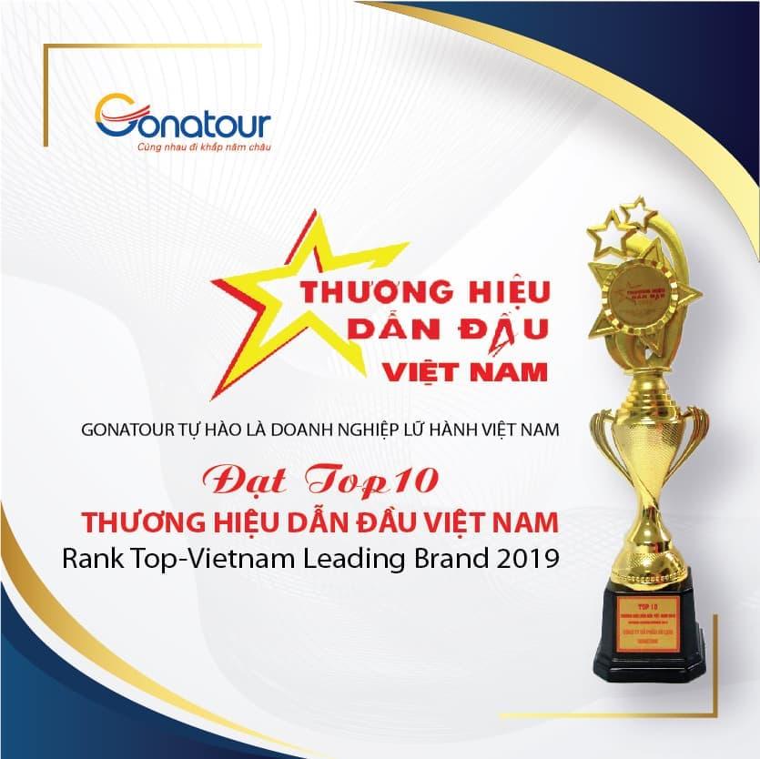GONATOUR TOP 10 THƯƠNG HIỆU DẪN ĐẦU VIỆT NAM